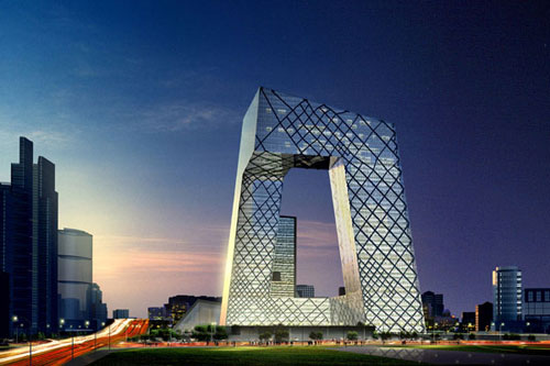 CCTV Headquarters - Beijing, China architecture