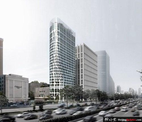 Conrad Hotel - Beijing, China architecture