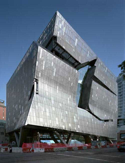Cooper union new york usa architecture Modern house architect new york