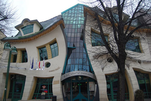 Crooked House - Sopot, Poland architecture