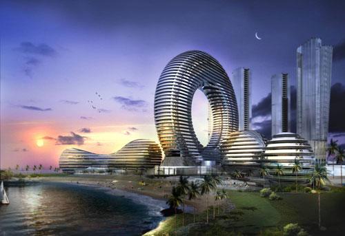 Promenade Hotel - Dubai, UAE architecture