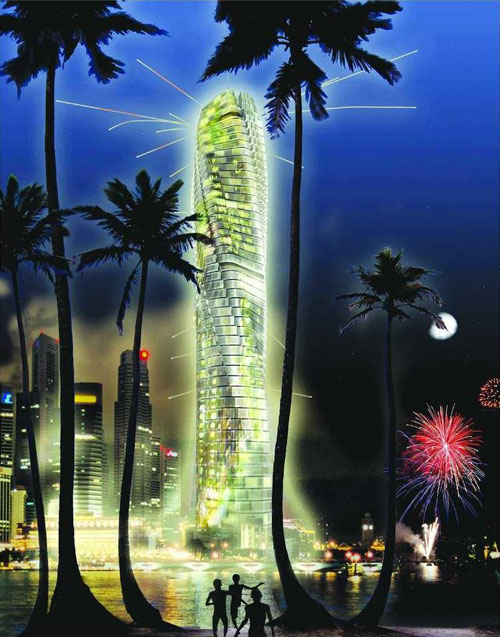 Dynamic Tower - Dubai, UAE architecture