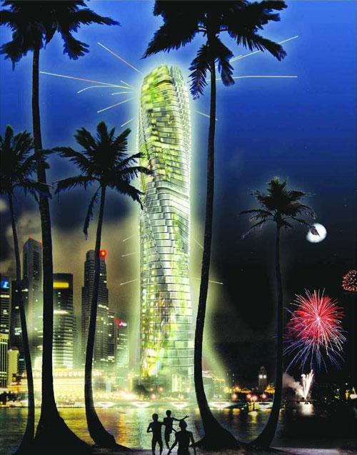 Dynamic Tower - Dubai, UAE architecture
