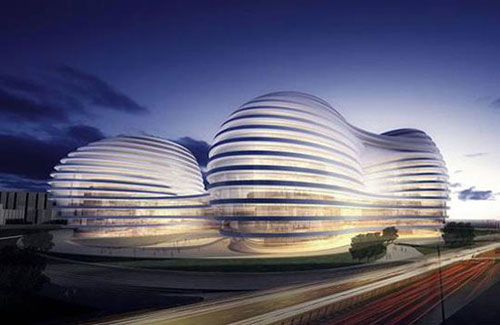 Galaxy Soho - Beijing, China architecture