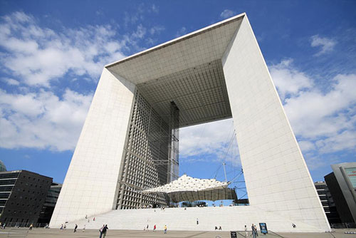 Great Arch of Defense - Paris, France architecture