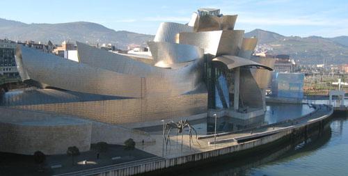 Guggenheim Museum - Bilbao, Spain architecture
