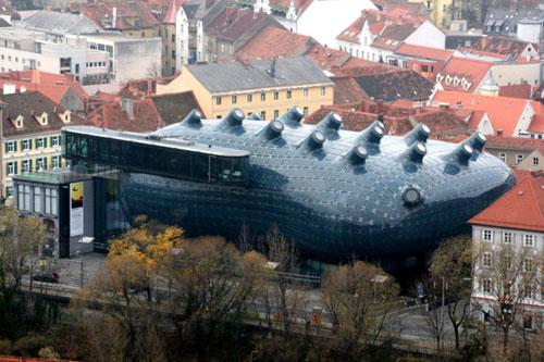 Kunsthaus - Graz, Austria architecture