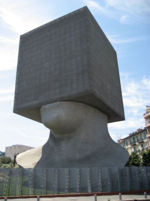 Museum of Contemporary Art - Nice, France architecture