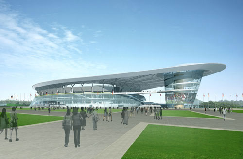 National Stadium Proposal  architecture