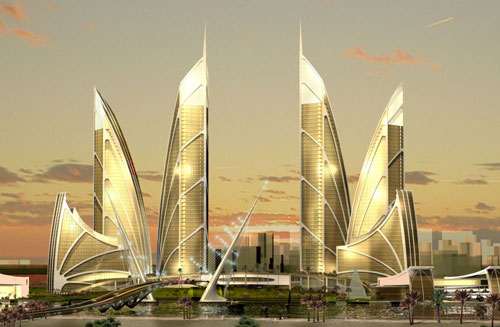Palm Jebel Ali - Dubai, UAE architecture