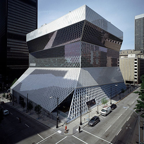 Central Library - Seattle, USA architecture