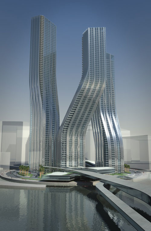 Signature Towers - Dubai, UAE architecture