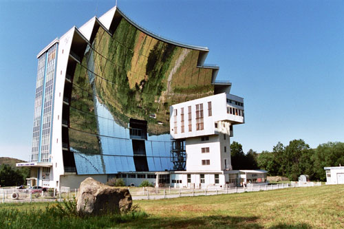 Solar Furnace - Odeillo, France architecture
