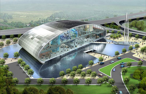 Spaceport - Singapore architecture