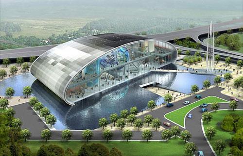 Spaceport - Singapore architecture