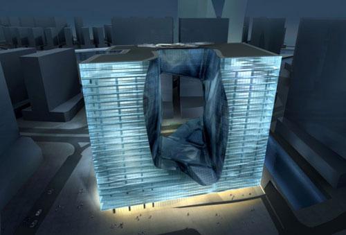 The Opus - Dubai, UAE architecture