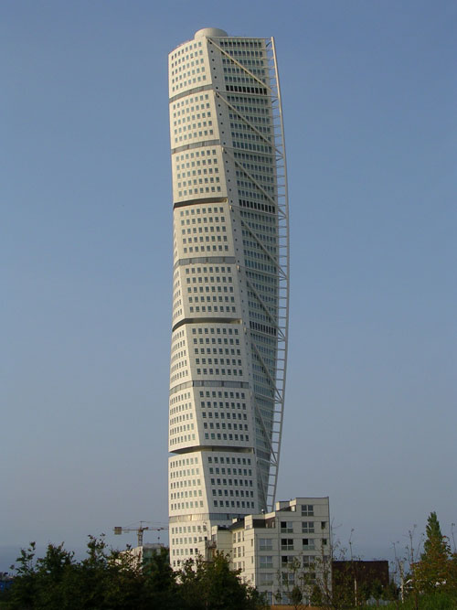 Turning Torso - Malmo, Sweden architecture