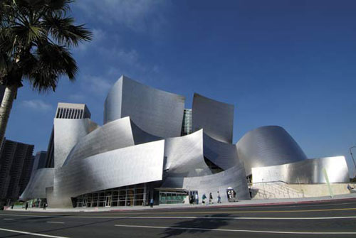 Walt Disney Concert Hall - Los Angeles, USA architecture
