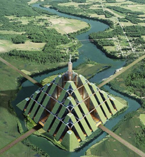 Ziggurat - Dubai, UAE architecture