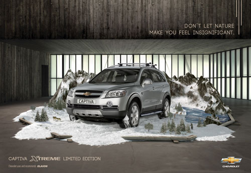 Car Ads Creative And Clever Print Advertisements