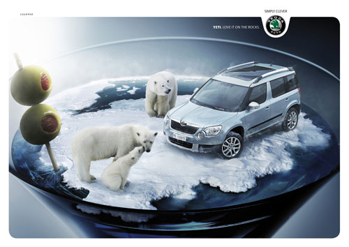 Car Ads 70 Creative And Clever Print Advertisements