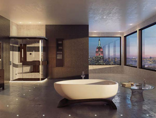 Bathroom interior design ideas to check out 85 pictures for Roman bathroom designs