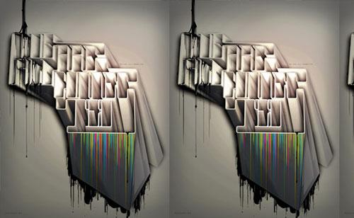 Solera type poster Typography Example
