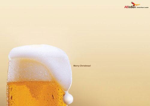 AB Inbev: Global beer leader Print Advertisement