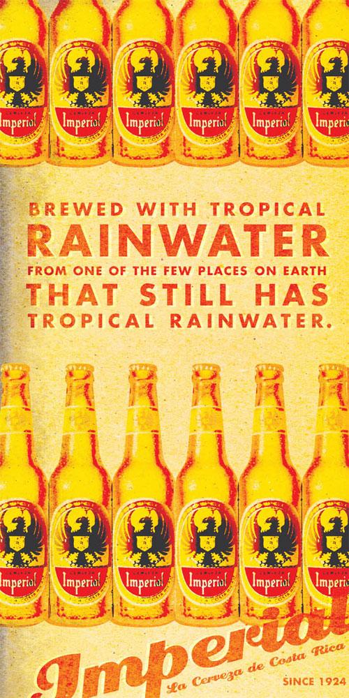 Imperial Beer Print Advertisement