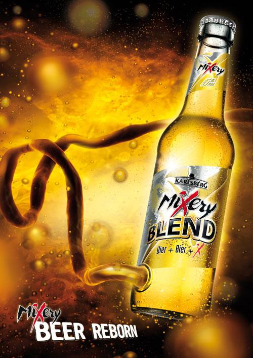 MiXery BLEND: Beer reborn Print Advertisement