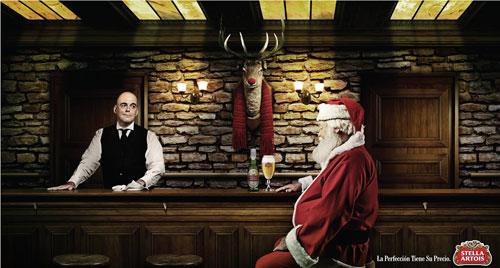 Stella Artois: Rudolf Print Advertisement