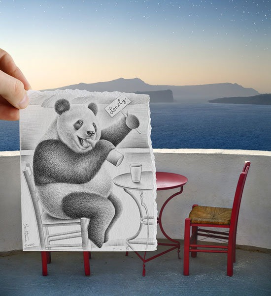 The Insanely Creative Project Pencil Vs Camera 10