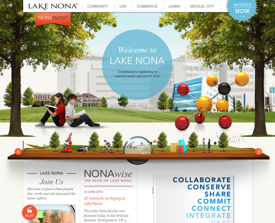 learnlakenona.com Site design