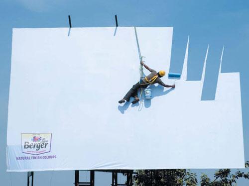 Berger Best billboard ads ideas - 88 creative billboards