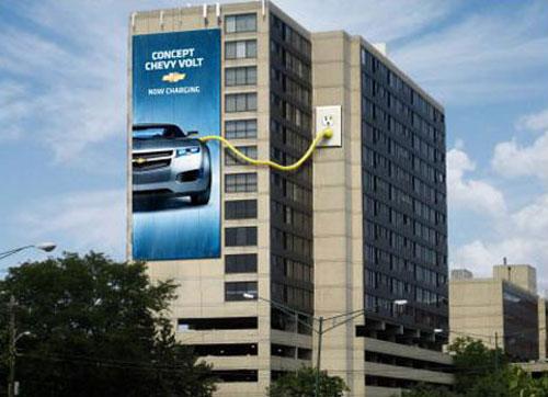 Chevrolet Best billboard ads ideas - 88 creative billboards