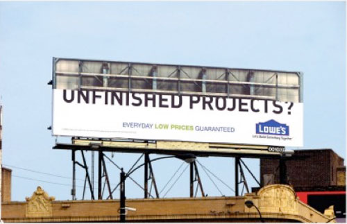 Unfinished-projects Best billboard ads ideas - 88 creative billboards