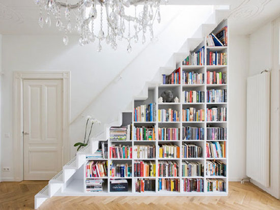 Bookshelf12 Cool Bookshelves 40 Unique Bookshelf Design Ideas