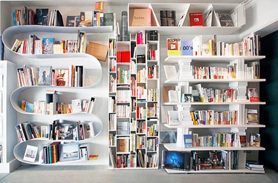 20 Unique Bookshelves inspiration