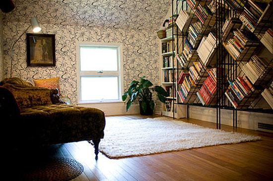 16 Unique Bookshelves inspiration