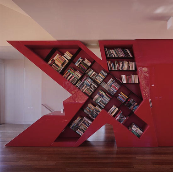 3 Unique Bookshelves inspiration