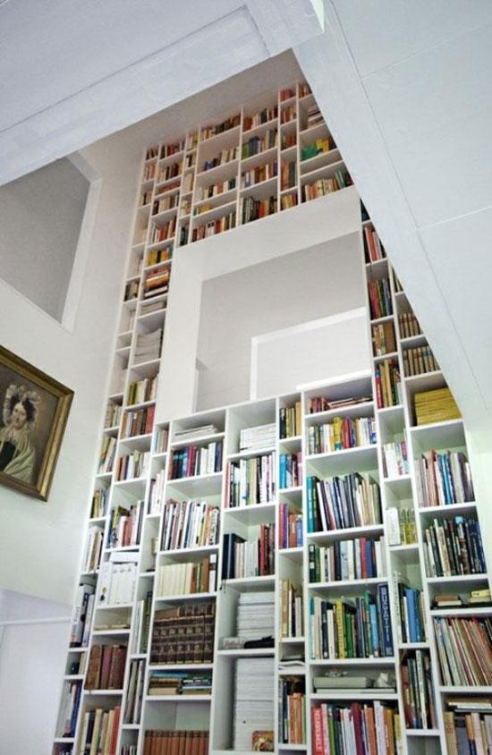 6 Unique Bookshelves Inspiration