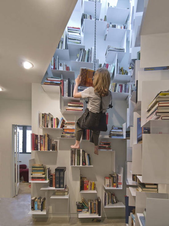 Attractive 19 Unique Bookshelves Inspiration