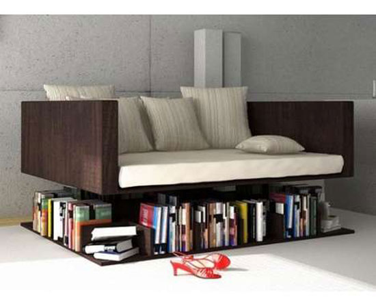 Unique Bookshelves cool and unique bookshelves designs for inspiration