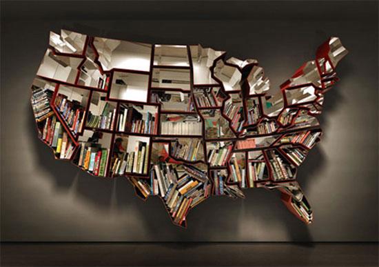2 Unique Bookshelves inspiration