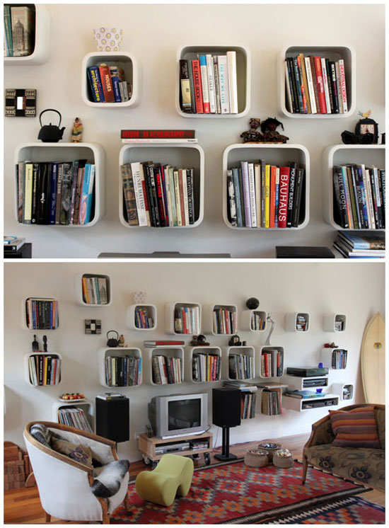 5 Unique Bookshelves inspiration