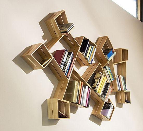 Designed Your Way: 24 Unique Bookshelves Inspiration