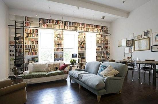 30 Unique Bookshelves inspiration