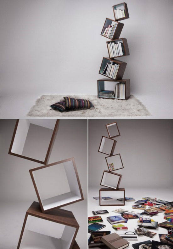 Bookshelves Design cool and unique bookshelves designs for inspiration