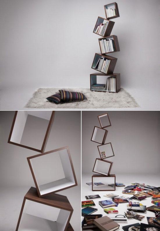 25 Unique Bookshelves inspiration