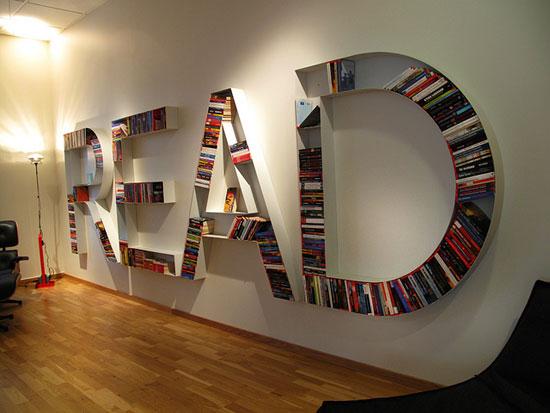 Unique bookcase plans